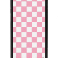 Pink Checkers iPhone 6/6s Case