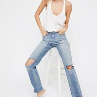 Free People Supreme Straight Leg Jeans