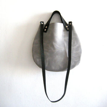 Little basket hand bag - Gray