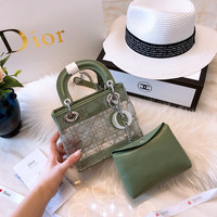 Dior Transparent Series Mini Tote Crossbody Bag