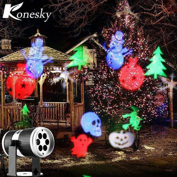 Christmas Snow Laser Projector Outdoor Led Lamps Lighting The Lamp Of The Stage Of The Light Of The Landscape Of The Garden