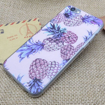 Fruits Pineapple iPhone 5se 5s 6 6s Plus Case Cover -0329