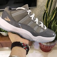 Air Jordan 11 Low Cool Grey AJ11 528895-003