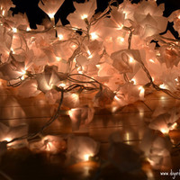 Whimsical String Lights 100 bulbs Color/s of your by diyordont