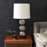 Abacus Table Lamp - Round Fluted