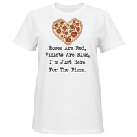 I'm here for the pizza: Red Heart Designs