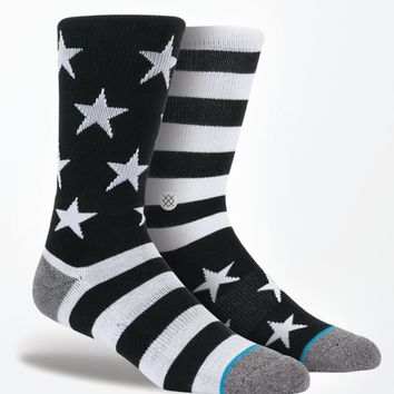Stance Bunker Crew Socks - Mens Socks - Black - One