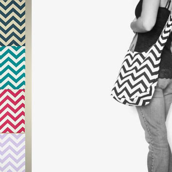 Cross Body Chevron Purse. NEW Girly Colors NOW AVAILABLE. Boho Bag. 16 Chevron Fabric Choices. Mix n Match Chevron and Solids. Fall Line.