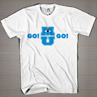 GO! GO! Monster Univercity  Mens and Women T-Shirt Available Color Black And White