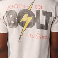 Lightning Bolt Pure Source Print Tee