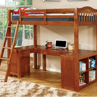 Tatum Twin Size Study Loft Bed