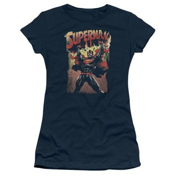 Superman - Lift Up Short Sleeve Junior Sheer