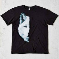 Midnight Wolf Tee- Black