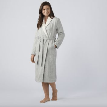 Catalina Charcoal Organic Robe