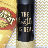 The Hustle Is Real // Travel To-Go Coffee Cup