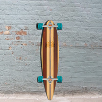 "Shiver Timber Pintail Longboard 38"" with Shark Wheels"
