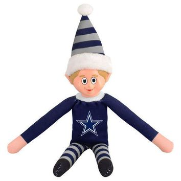 Dallas Cowboys Holiday Christmas Team Elf with Santa Hat n Shirt NFL