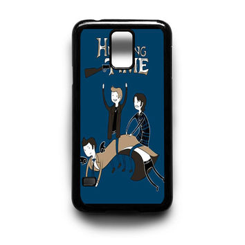 Adventure time hunting supernatural Samsung Galaxy S3 S4 S5 Note 2 3 4 HTC One M7 M8 Case