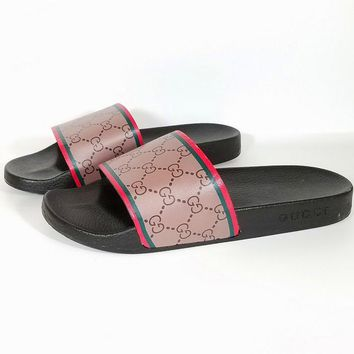 Gucci Casual Fashion Women Sandal Slipper Shoes10