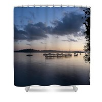 Peace before sunrise Shower Curtain for Sale by Ivy Ho