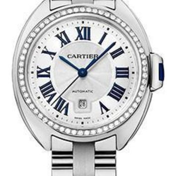 Cartier - Cle de Cartier 31mm - White Gold and Diamonds