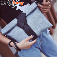 New Women Day Clutches Bags High Quality Envelope Bag Vintage Pu Leather Shoulder Bag