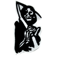 Grim Reaper Iron On Patch Sons of Anarchy Applique