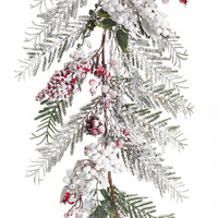 Sub Zero Collection Snowy Berry/Pine Garland