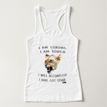 Spunk Quote by Kat Worth Tank Top