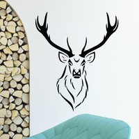 Wall Decal Vinyl Sticker Wild Animal Deer Reindeer Decor Sb433