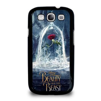 BEAUTY AND THE BEAST ROSE IN GLASS Samsung Galaxy S3 Case Cover