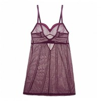 Buy Samantha Chang luxury lingerie - Samantha Chang Meet Me at Midnight Seamed Chemise  | Journelle Fine Lingerie