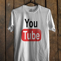 logo Youtube T-Shirt for man shirt, woman shirt XS / S / M / L / XL / 2XL / 3XL *AR*