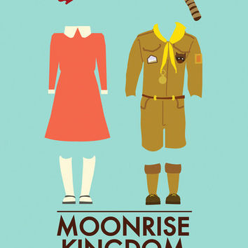Moonrise Kingdom Poster Art Print by Girlviolence | Society6