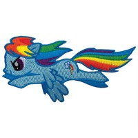 My Little Pony - Rainbow Dash Jumping Patch