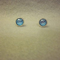 Water Tribe Stud Earrings
