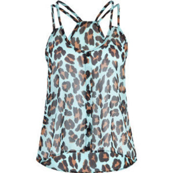 FULL TILT Animal Womens Chiffon Tank 198781246 | Tanks & Camis | Tillys.com