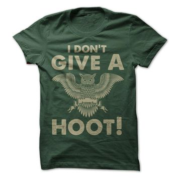 I Don't Give A Hoot!
