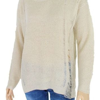 Women's Distresses Sweater