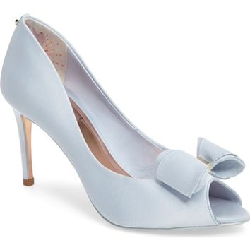 Ted Baker London Alifair Open Toe Pump (Women) | Nordstrom