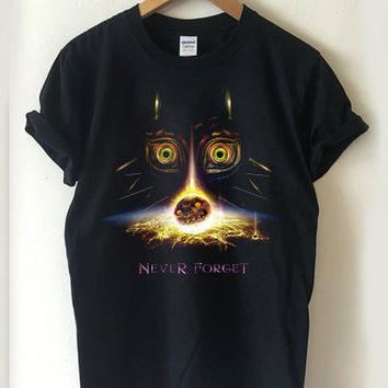 The Legend of Zelda: Majora's Mask T-shirt Men, Women Youth and Toddler
