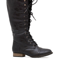 Savvy Writer Boots - Black
