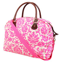 Tropical Flower Duffle Bag