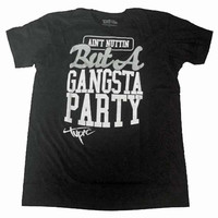 Tupac Shakur Gangsta Party Men's T