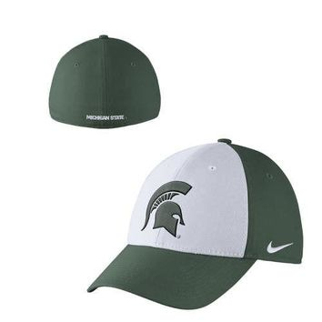 Nike Michigan State Spartans Classic99 Dri-FIT Swoosh Flex Hat
