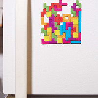 Tetris Magnet Set - Urban Outfitters