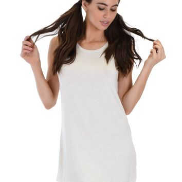 Lyss Loo All Yours Open Back Ivory Sleep Shirt