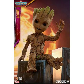 Hot Toys Marvel Guardians of the Galaxy Vol. 2 Baby Groot Life-Size Action Figure