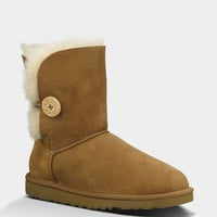 Ugg Bailey Button Womens Boots Chestnut  In Sizes