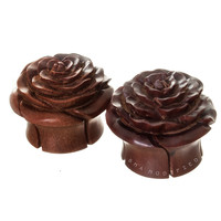 Sabo Rose Wood Plugs (8mm-25mm)